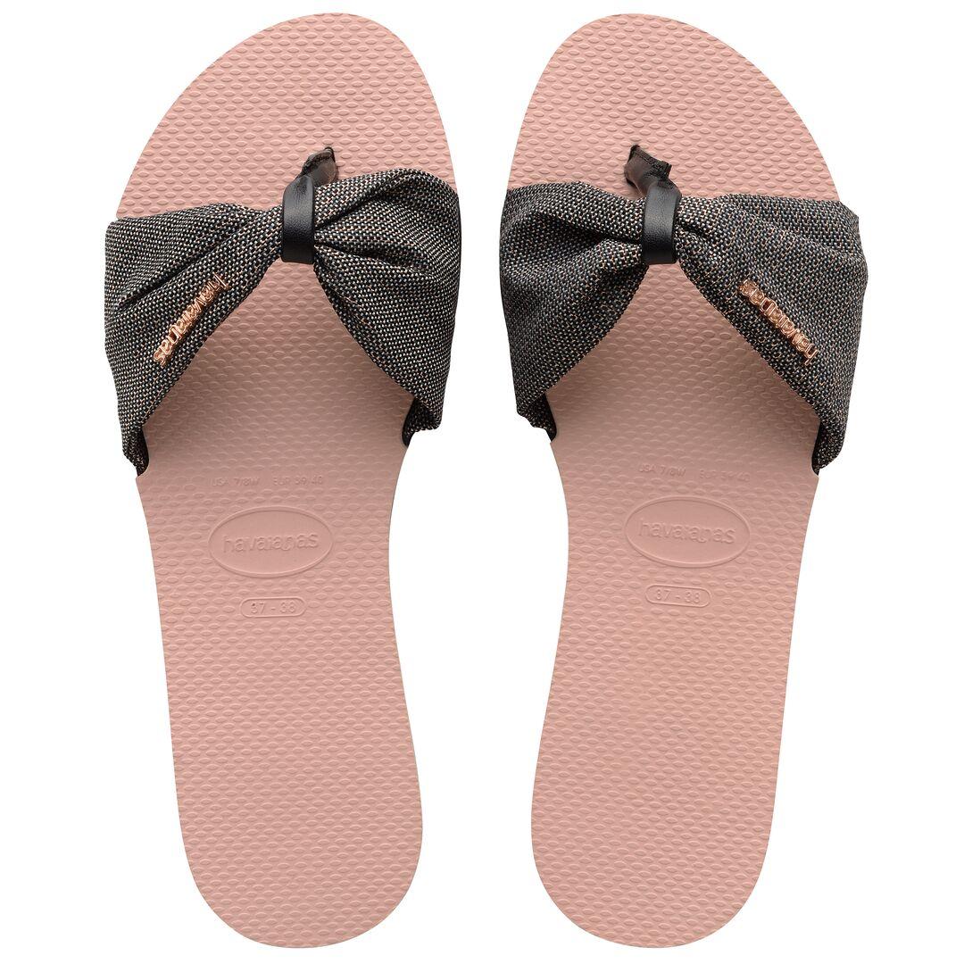 Havaianas You Saint Tropez Shine 4145627-0076 Ballet Rose - Havaianas -