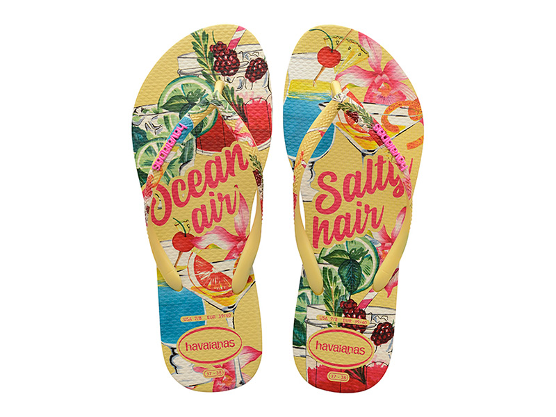 Havaianas Slim Summer 4144534-7598 Yellow