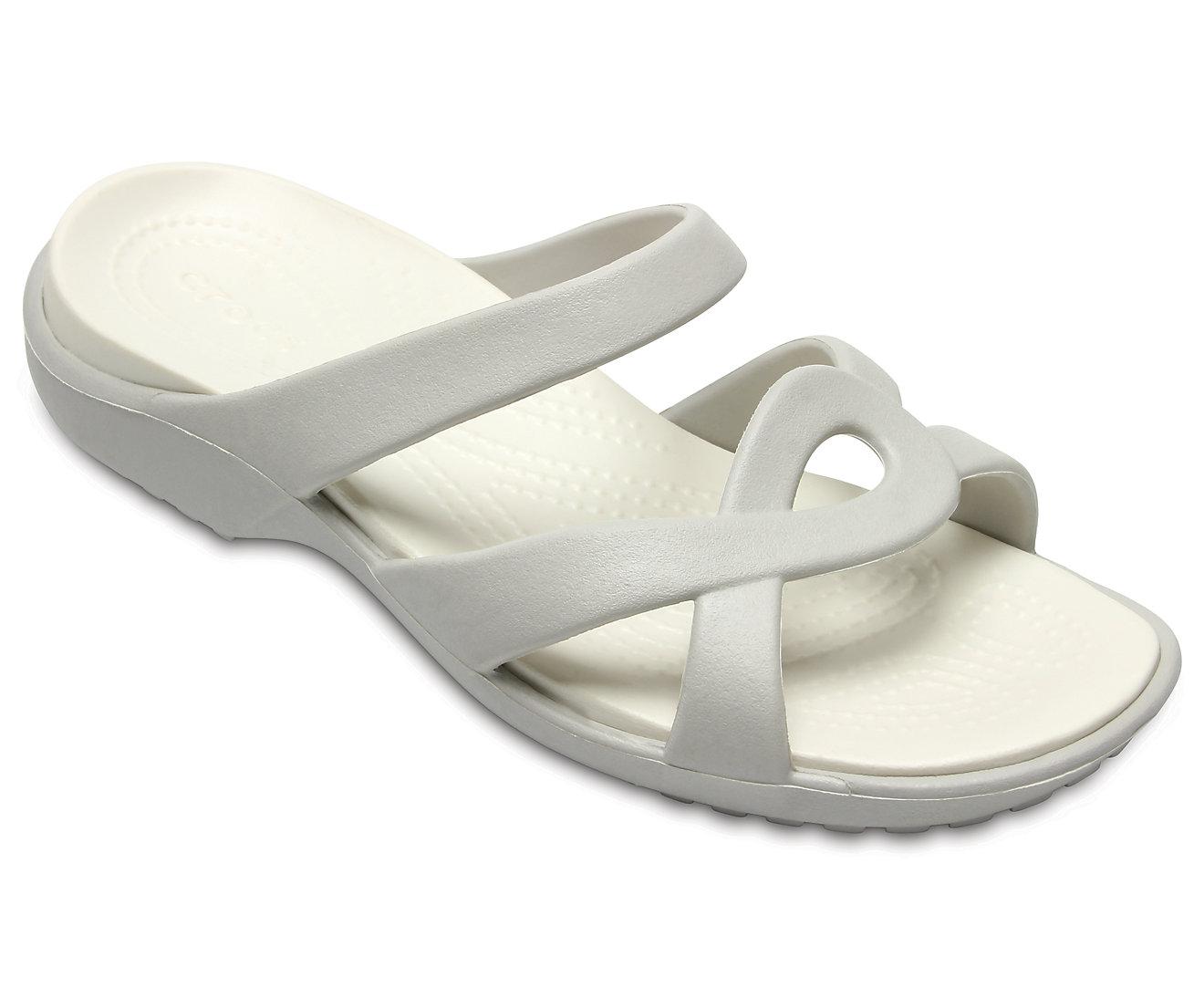 Crocs Women's Meleen Twist Sandal 202497 Pearl White/Oyster Άσπρο