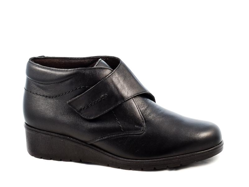 Γυναικεία Δερμάτινα Παπούτσια Tupie TU70244S Μαύρο