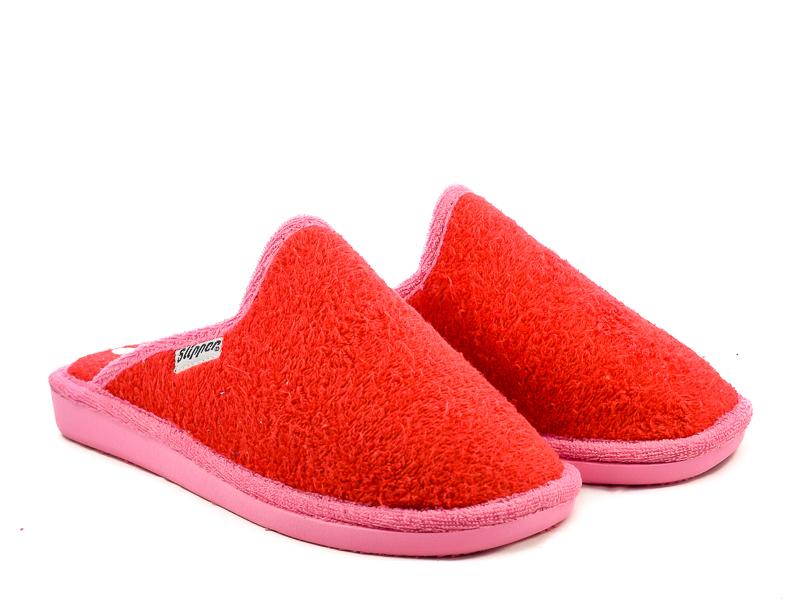 Γυναικείες Παντόφλες Μπουρνουζέ Υφαντίδης SL215 Κόκκινο