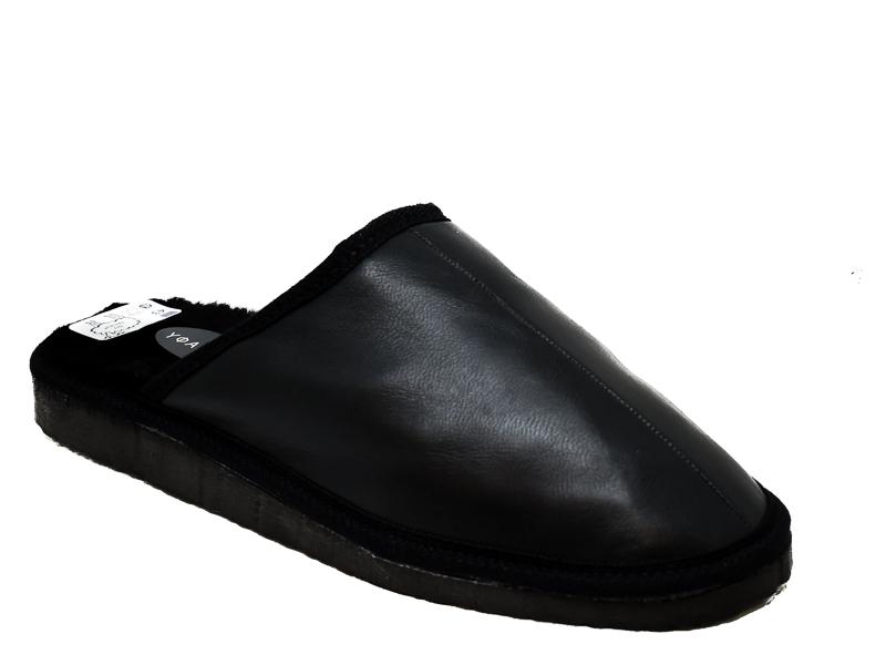 Ανδρικές Παντόφλες Σπιτιού ΥΦΑΝΤΙΔΗΣ YF98 BLACK Μαύρο