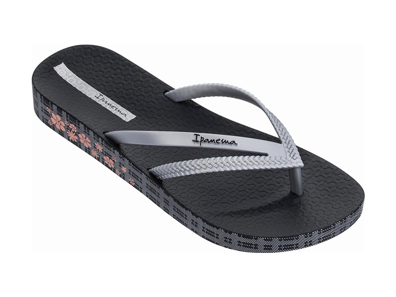 Ipanema Bossa Soft IV Fem 780-20338 Black/Silver (82772-20728)