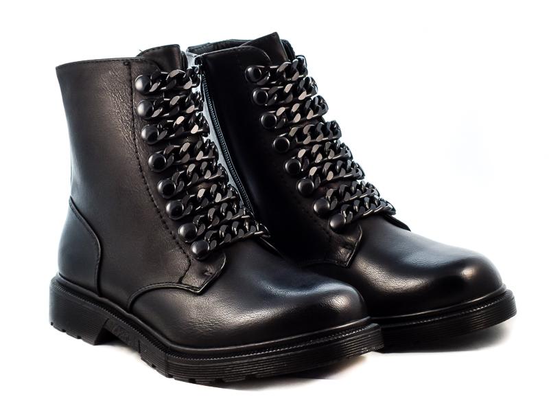 Γυναικεία Μποτάκια ARSM4756 Μαύρο