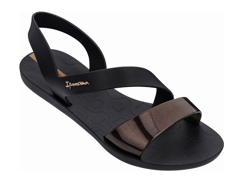 Ipanema Vibe Sandal Fem 780-20366 Black/Black (82429-21120)