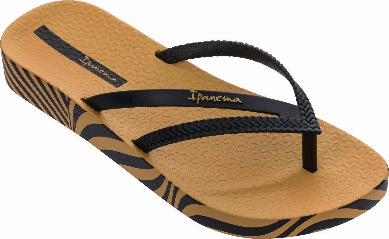 Ipanema Bossa Soft V Fem 780-21347 Yellow/ Black (82840-23618) - Ipanema -