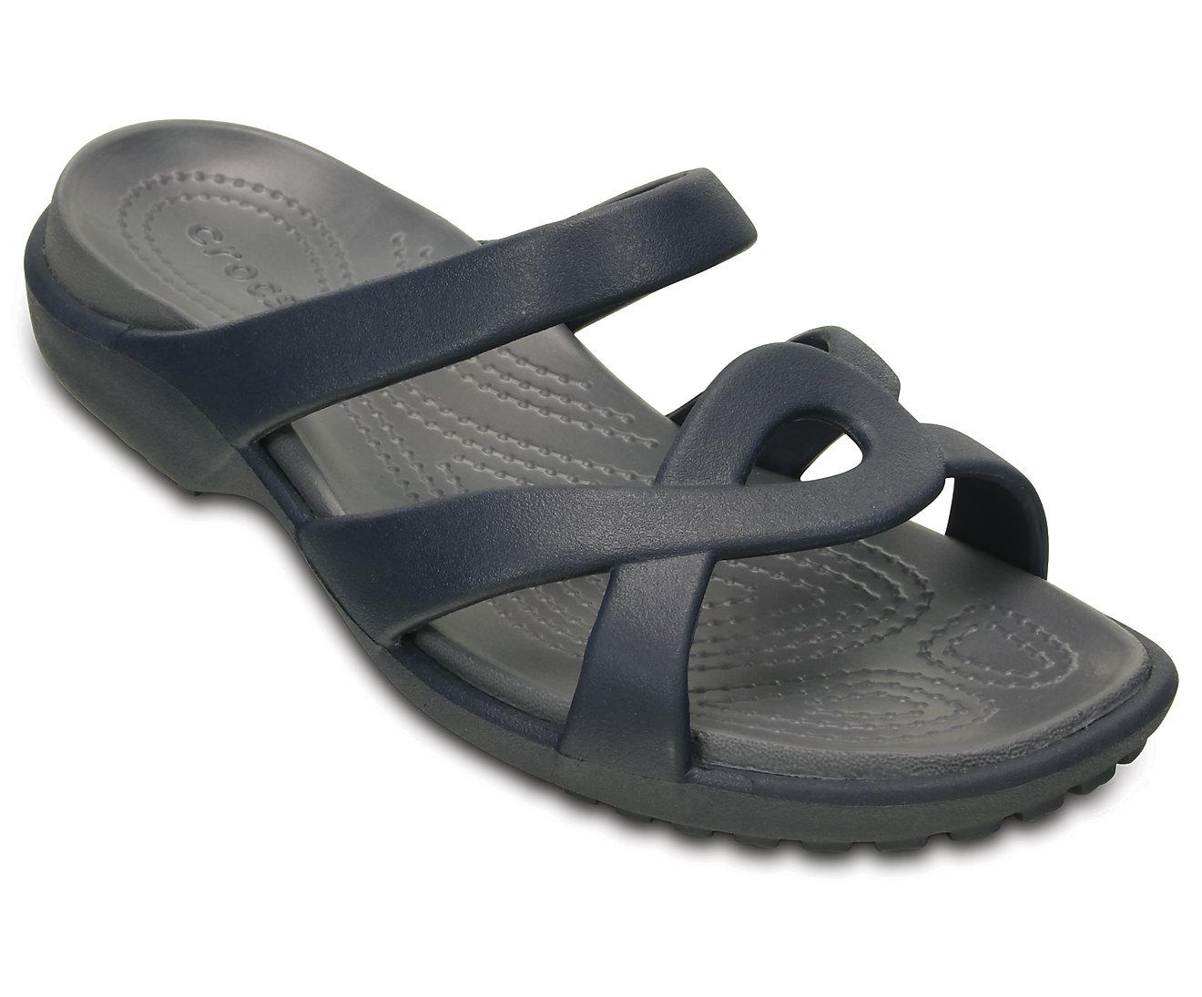Crocs Women's Meleen Twist Sandal 202497 Navy/Storm Μπλε σκούρο
