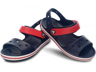 CROCS Crocband Sandal 12856 NAVY/RED
