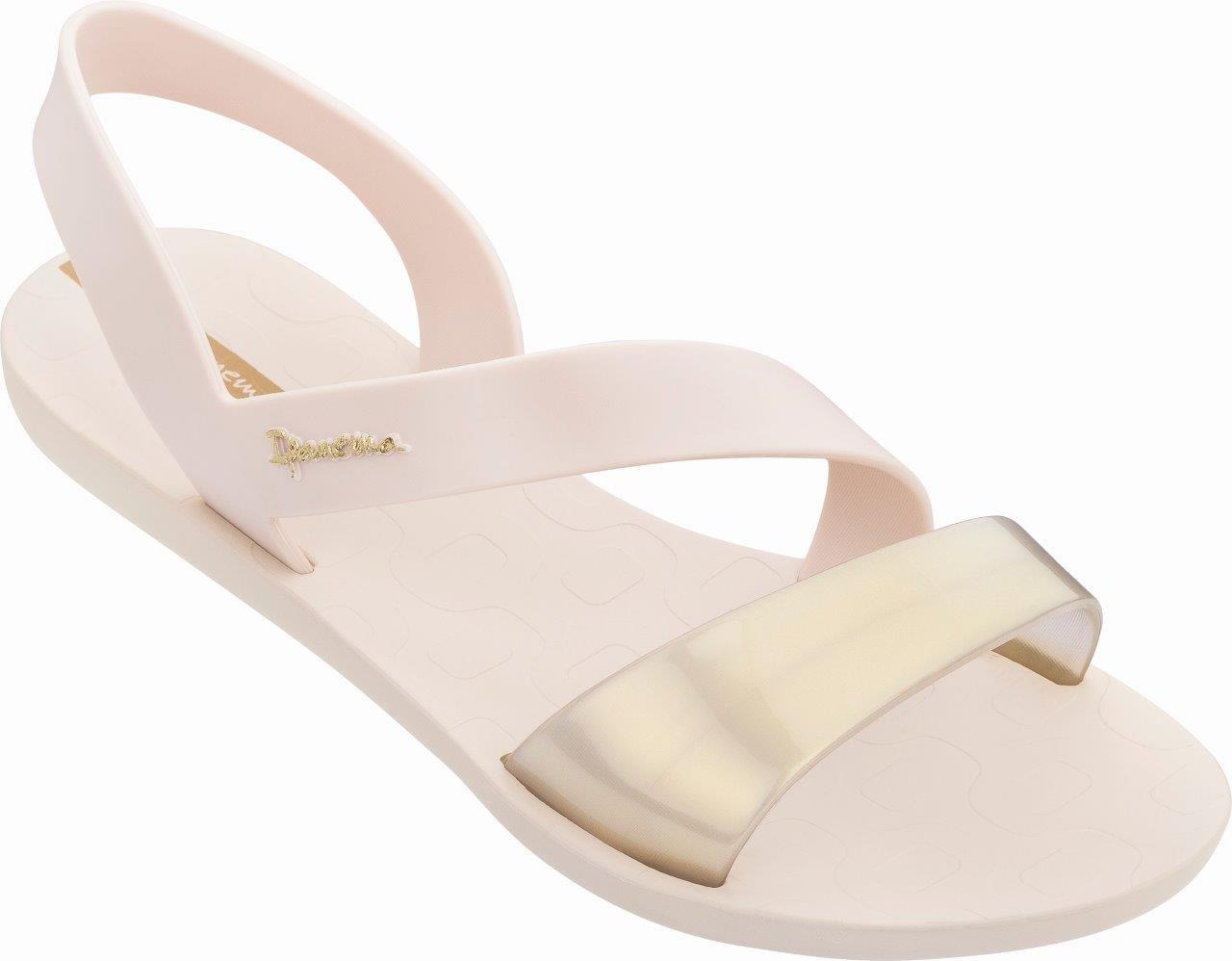 Ipanema Vibe Sandal Fem 780-20366 Beige/Beige Pearly