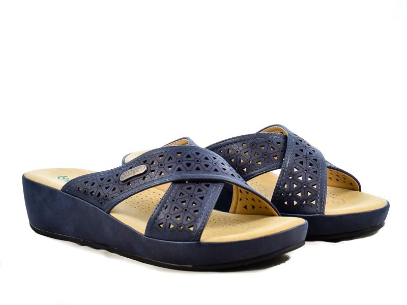 Γυναικείες Παντόφλες Ανατομικές Amarpies ABZ17049 Μπλε