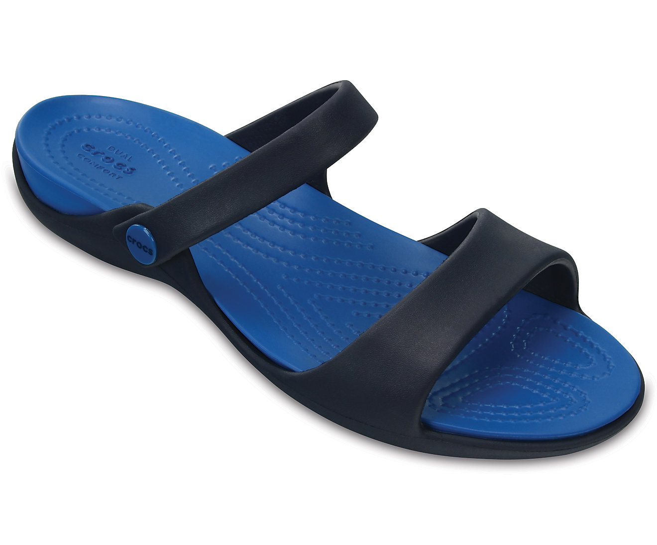 CROCS Cleo V Sandals 204268 Navy/Ultramarine Μπλε σκούρο