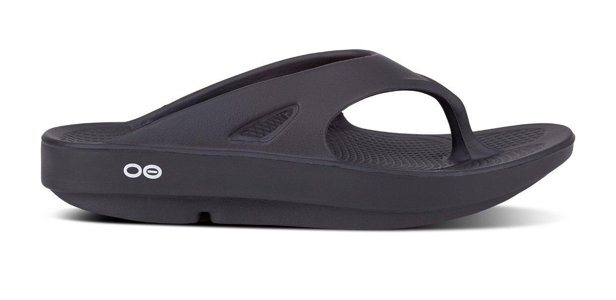 Oofos Ooriginal Recovery Sandal 1000 Black Μαύρο