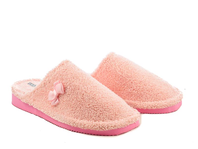 Γυναικείες Παντόφλες Μπουρνουζέ Υφαντίδης NE2490 Ροζ
