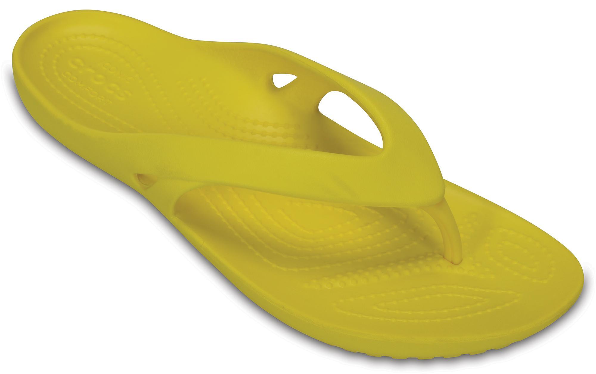 CROCS Women's Kadee II Flip 202492 LEMON Κίτρινο