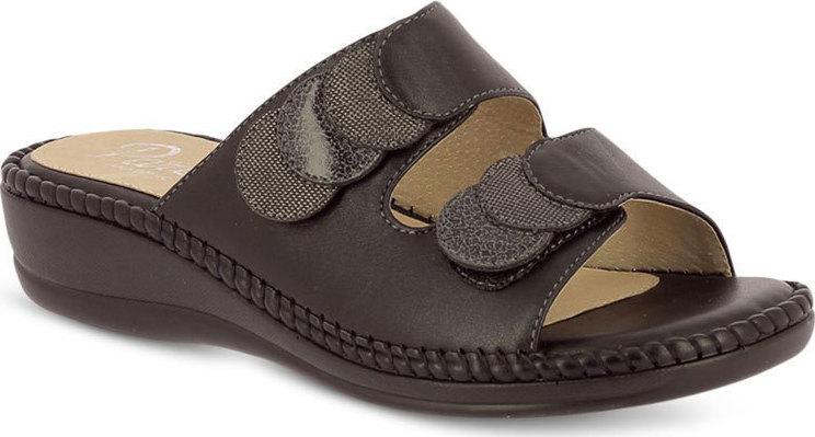 Γυναικείες Παντόφλες Comfort Me Velcro Parex 12117006 Μαύρο