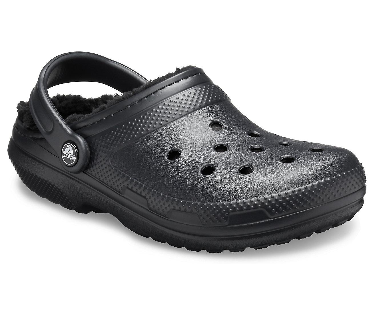 Crocs Lined Clog 203591-060 BLACK/BLACK Μαύρο