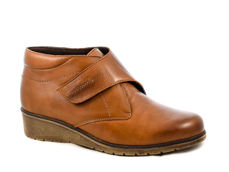 Γυναικεία Δερμάτινα Παπούτσια Tupie TU70244S Καφέ