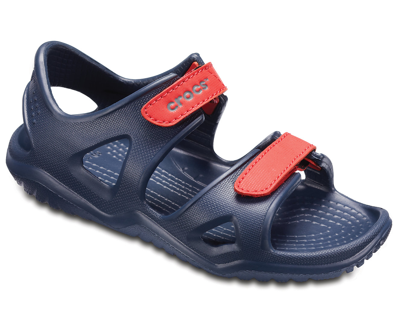 ecf1b65b109 -20% Yfantidis CROCS Kids' Swiftwater River Sandals 204988 NAVY/FLAME Μπλε  σκούρο