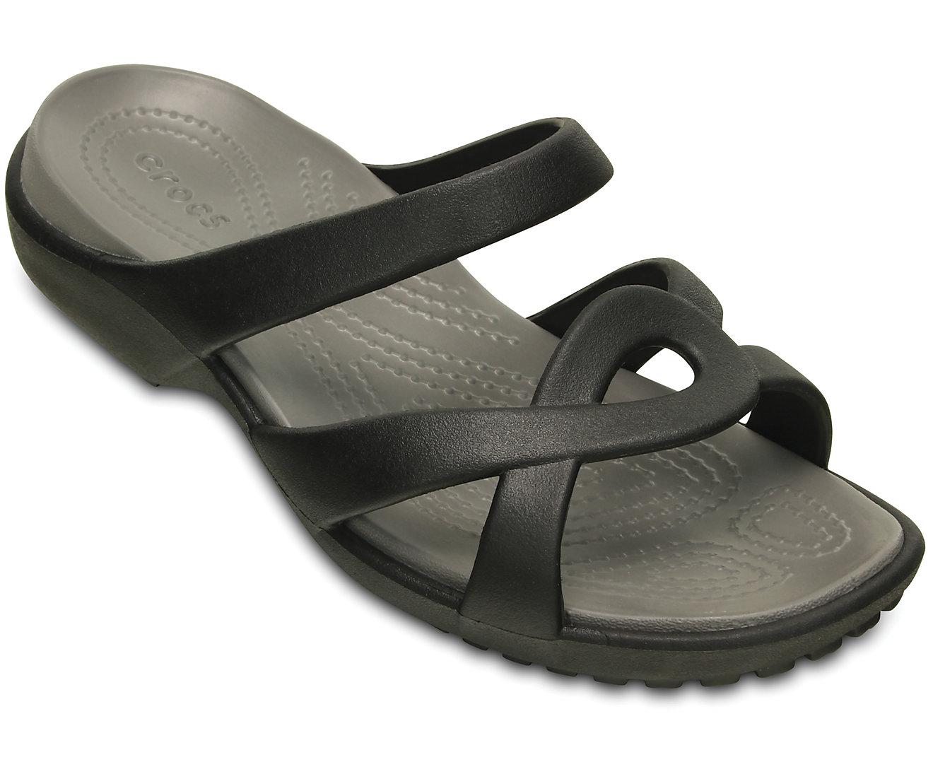 Crocs Women's Meleen Twist Sandal 202497 Black/Smoke Μαύρο