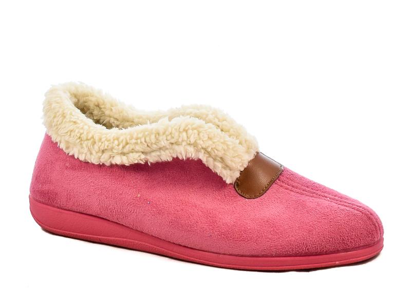 Γυναικείες Παντόφλες Σπιτιού Υφαντίδης 3076-35 Ροζ