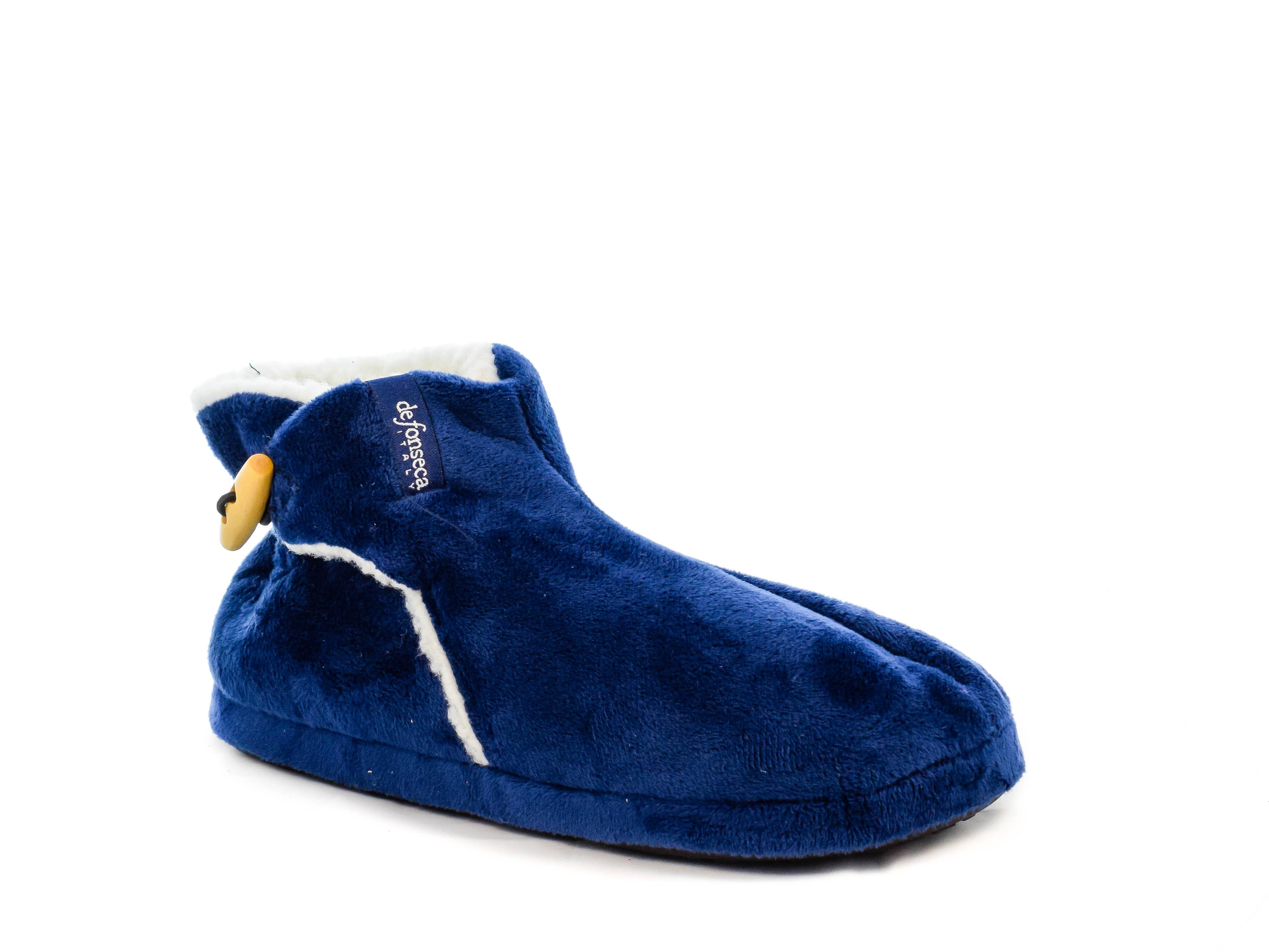 Κλειστή Παντόφλα Μποτάκι DeFonseca W15 NAVY Μπλε σκούρο